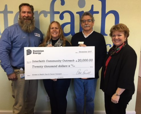 Dominion Energy Supports Critical Community Needs by