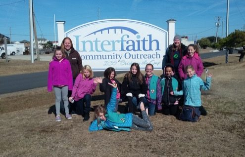Girl Scout Troop #2512 makes their Bronze Award for Community Outreach